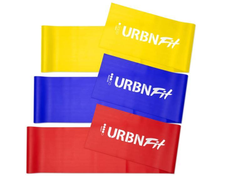 URBNFit Long Fitness Band Set