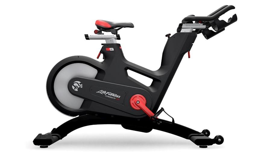 best stationary bike life fitness ic7