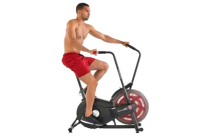 best stationary air bike schwinn