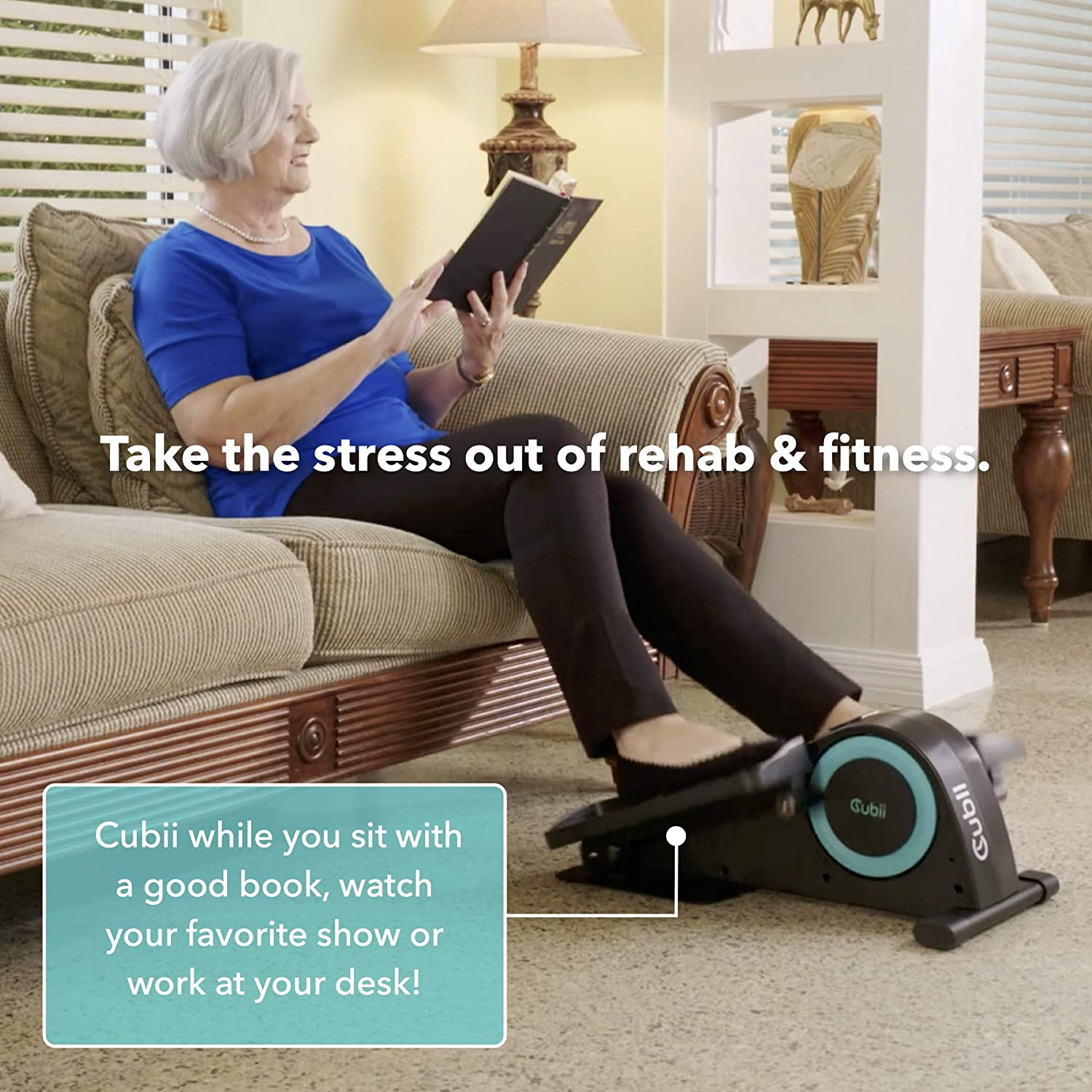 Cubii Jr Stress Rehab Fitness