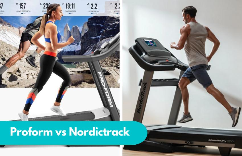 Proform vs Nordictrack Treadmill