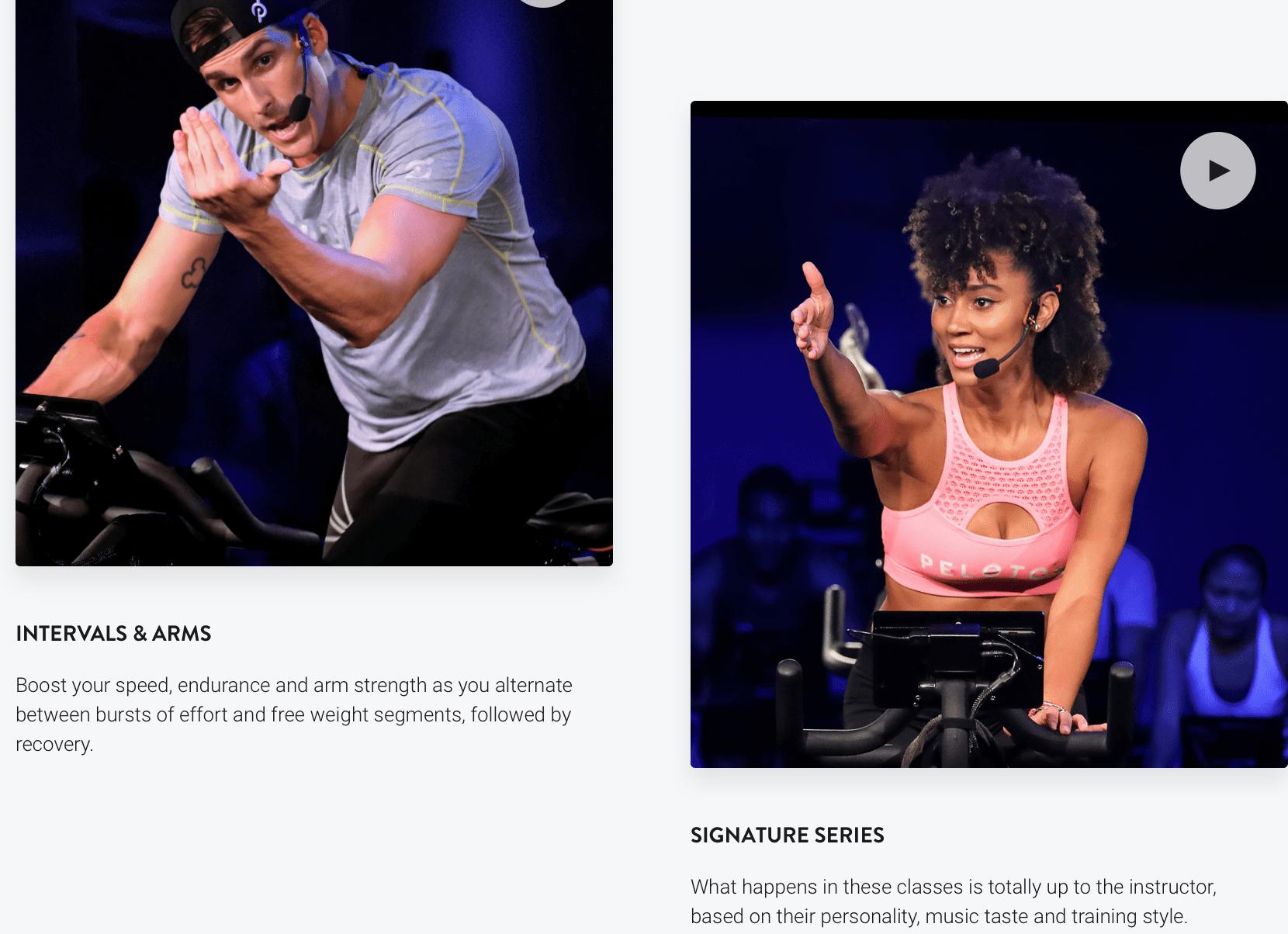 Peloton Workouts