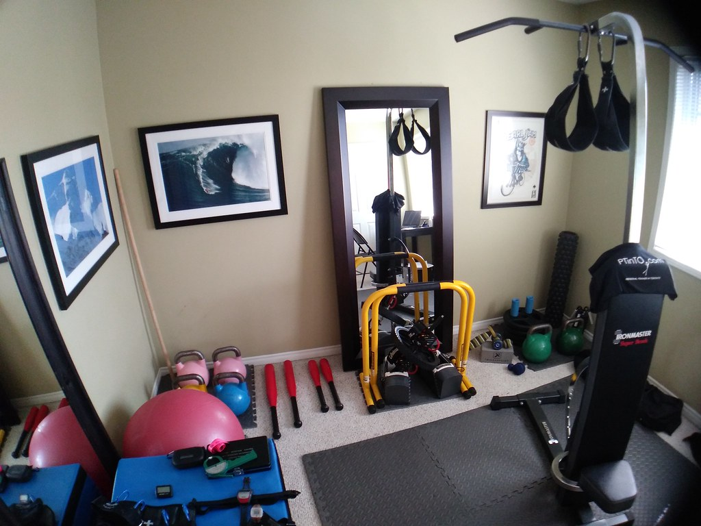home gym tight space