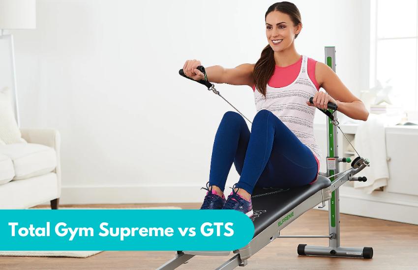 total gym supreme vs gts