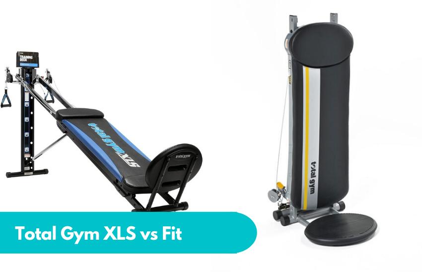 total gym xls vs fit
