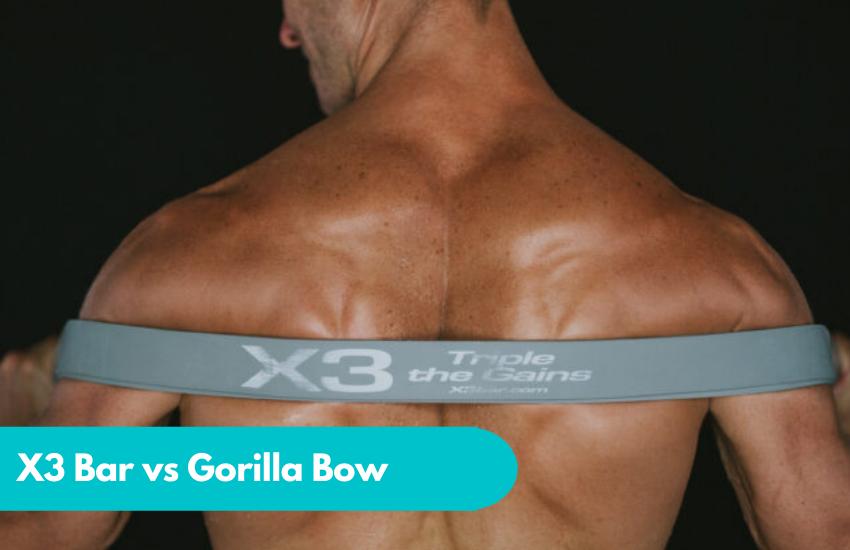 x3 bar vs gorilla bow