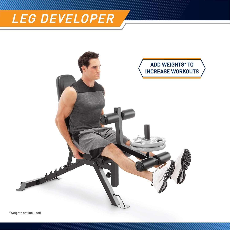 Marcy Adjustable Utility Bench with Leg Developer | Amazon