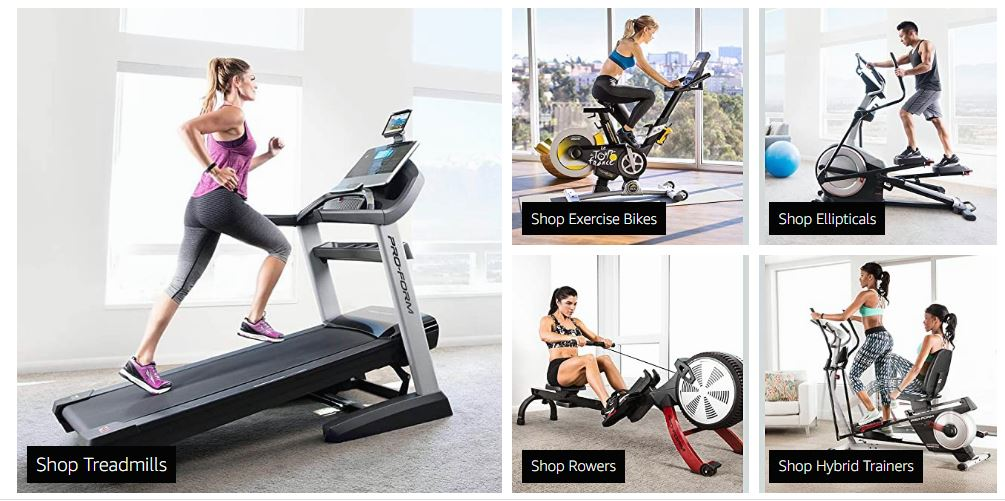 Leader in Home Fitness Equipment - ProForm   Amazon